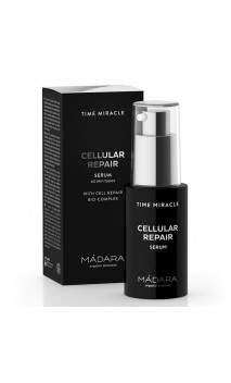 Sérum celular Reparador ecológico - Time Miracle - MÁDARA - 30 ml.