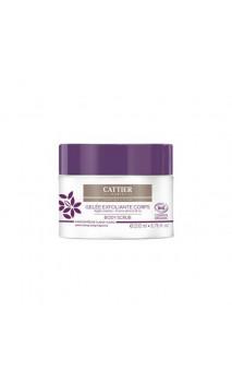 Gelée Exfoliante Corps Bio - Argile violette, grains  Violeta, Granos abricot & riz - Cattier - 200 ml.