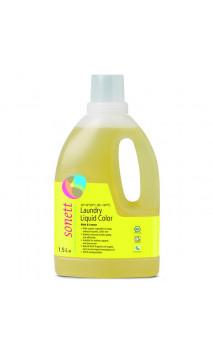 Lessive liquide bio Couleur - Menthe & Citrus - Sonett - 1,5 L.
