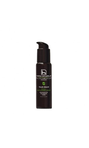 Crema Facial Antiestrés Ecológica Youth Blend - HOMO NATURALS Hombre - 50 ml.