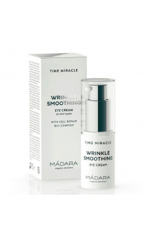 Contorno de ojos ecológico Wrinkle Resist - Time Miracle - MÁDARA - 15 ml.