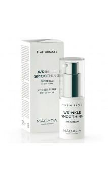 Crème yeux bio lissante Wrinkle Resist - Time Miracle - MÁDARA - 15 ml.