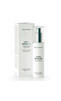 Crema de Noche natural Total Renewal - Time Miracle - MÁDARA - 50 ml.