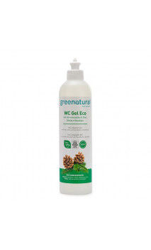 Gel limpiador natural WC - Pino, Menta & Eucalipto - Greenatural - 500 ml.