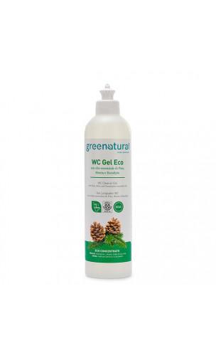 Gel limpiador natural WC - Pino, Menta & Eucalipto - Greenatural - 500 ml.