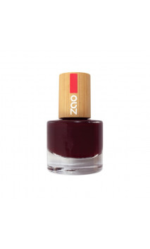 Vernis à ongles naturel Cerise Noir - 659 - ZAO Make Up - 8 ml.