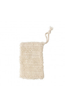 Filet á savon bio en Sisal - 9 x 14 cm - Avril
