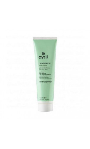 Dentifrice bio Menthe - Avril - 75 ml.