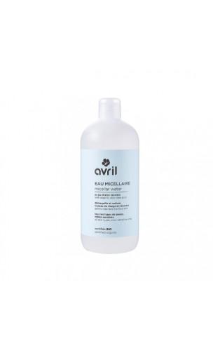 Agua micelar ecológica limpiadora Aloe vera - Avril - 500 ml.