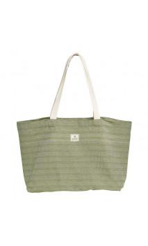 Bolsa de mano de fibras recicladas - Kaki - Avril
