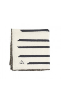 Furoshiki Zèbre - Coton bio - 52 cm - Avril