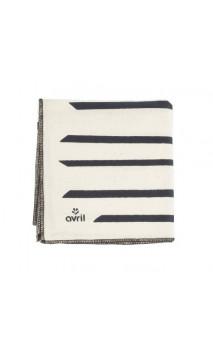 Tela Furoshiki Zebra - Algodón bio - 52 cm - Avril