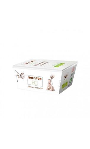 Bastoncillos de seguridad para el oído de algodón bio - BOCOTON - 200 Ud.