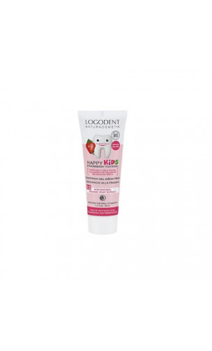Gel dentífrico bio fresa Logodent Kids - LOGONA - 50 ml.