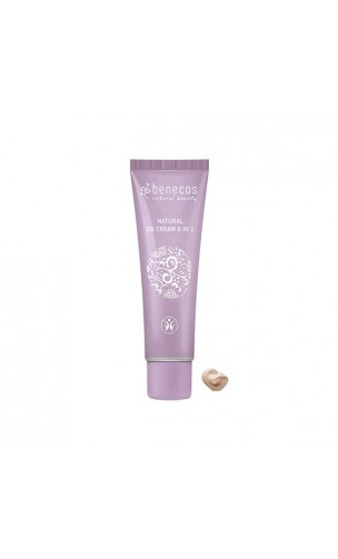 BB Cream BIO 8 en 1 beige - Benecos - 30 ml.