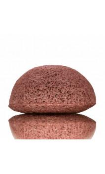 Éponge Konjac Originale à l'argile rouge Peau sèche et sensible - KONGY