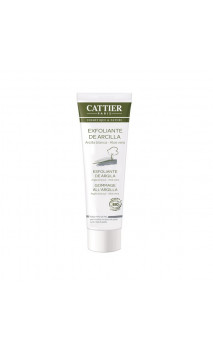 Exfoliante Facial Ecológico con Arcilla Blanca - Cattier - 100 ml.