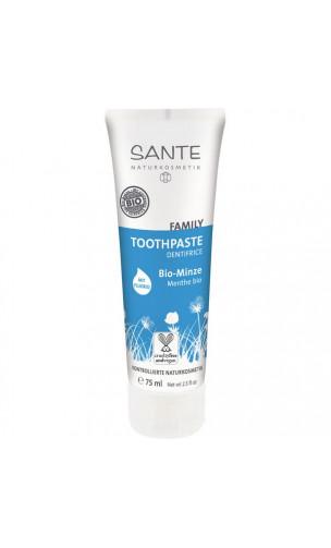 Dentifrice BIO menthe avec fluor - SANTE - 75 ml.