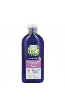 Champú ecológico calmante AROMA - SO'BiO Étic - 200 ml.