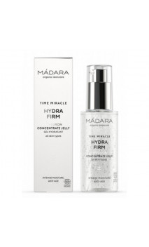 Gel concentré bio d'acide hyaluronique Hydra Firm - Time Miracle - MÁDARA - 75 ml.