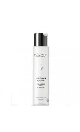 Eau micellaire bio Acide hyaluronique - MÁDARA - 100 ml.