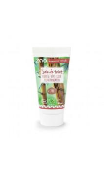 Recarga base de maquillaje fluido ecológico - 30 ml - ZAO - 703 Pétale de rose