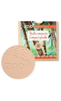 Recharge poudre compacte bio - Beige orangé - ZAO - 302