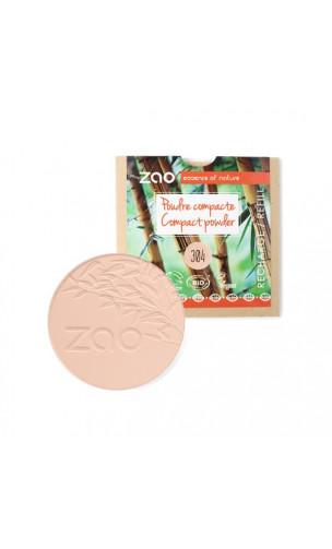 Recharge poudre compacte bio - Cappuccino - ZAO - 304