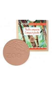Recharge poudre compacte bio - Chocolat au lait - ZAO - 305