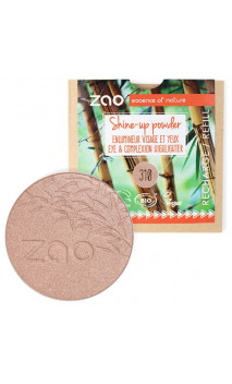 Recarga Iluminador bio Shine Up Powder - ZAO Make Up - 310 Champagne rosé - 9 gr.