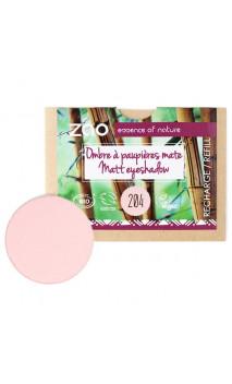 Recharge ombre à paupières bio - Vieux rose doré - Mate - ZAO - 204