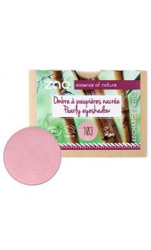 Recharge ombre à paupières bio - Vieux rose nacrée - ZAO - 103