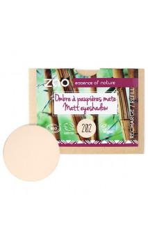Recharge ombre à paupières bio - Brun beige - Mate - ZAO - 202