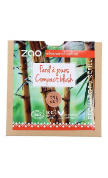 Recarga colorete ecológico - ZAO - Rouge brique - 324