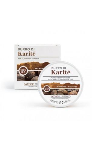 Beurre de karité 100% bio - Sapone di un Tempo - 100 ml.
