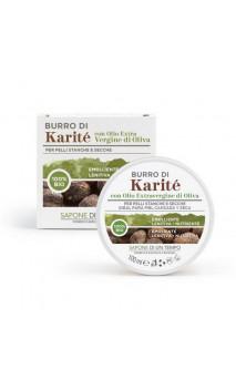 Manteca de karité bio con aceite de oliva - Sapone di un Tempo - 100 ml.