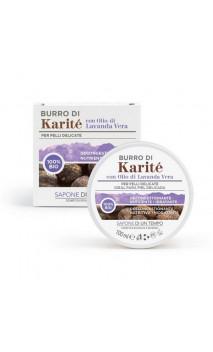 Manteca de karité bio con aceite esencial de lavanda - Sapone di un Tempo - 100 ml.