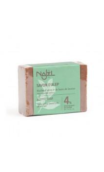 Jabón de Alepo natural Laurel al 4 - Najel - 155 g.