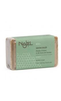Jabón de Alepo natural - Miel - Reparador - Najel - 100 g.