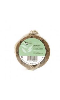Jabón de Alepo natural - Ámbar & Oud - Najel - 150 g.