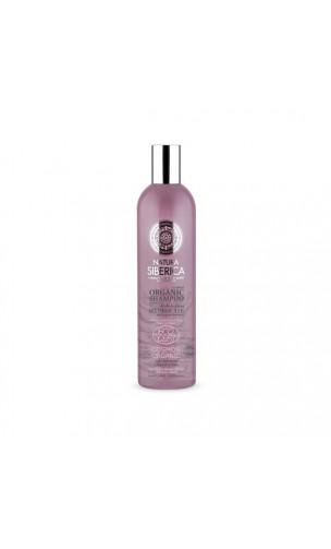 Champú ecológico para cabello teñido y dañado Protección y Brillo - Natura Sibérica - 400 ml.
