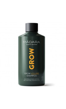Shampooing naturel Volumen - Croissance et anti-chute - Grow - MÁDARA - 250 ml.