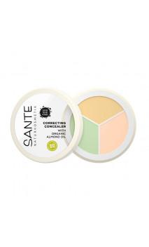 Corrector ecológico Polvo-Crema 3 Tonos - SANTE - 6 g.