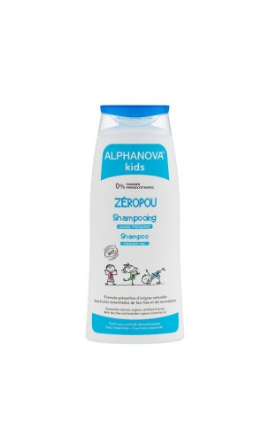 Shampooing Anti-poux bio Zéropou - Alphanova Kids - 200 ml.