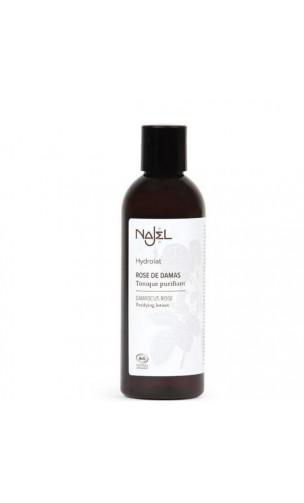 Eau de rose de Damas bio - Tonique purifiant - Najel - 200 ml.
