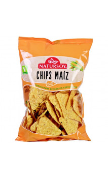 Chips de maïs  BIO - Natursoy - 125g
