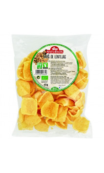 Chips de lentille BIO - Natursoy - 65g