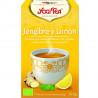 Infusión ecológica Jengibre y limón - YOGI TEA - 12 bolsitas x 1,8 g.