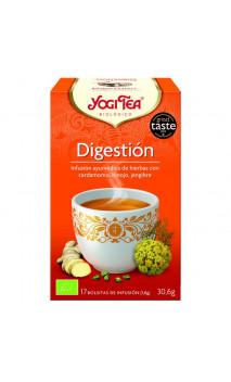 Infusión ecológica Digestión - YOGI TEA - 17 bolsitas x 1,8 g.
