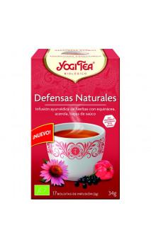 Infusion bio Yogi Tea Défenses naturelles - YOGI TEA - 17 sachets x 1,8 g.